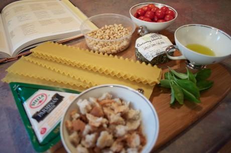 Broken Lasagna Ingredients