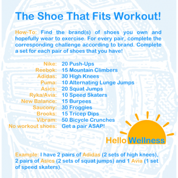 Shoe That Fits Workout
