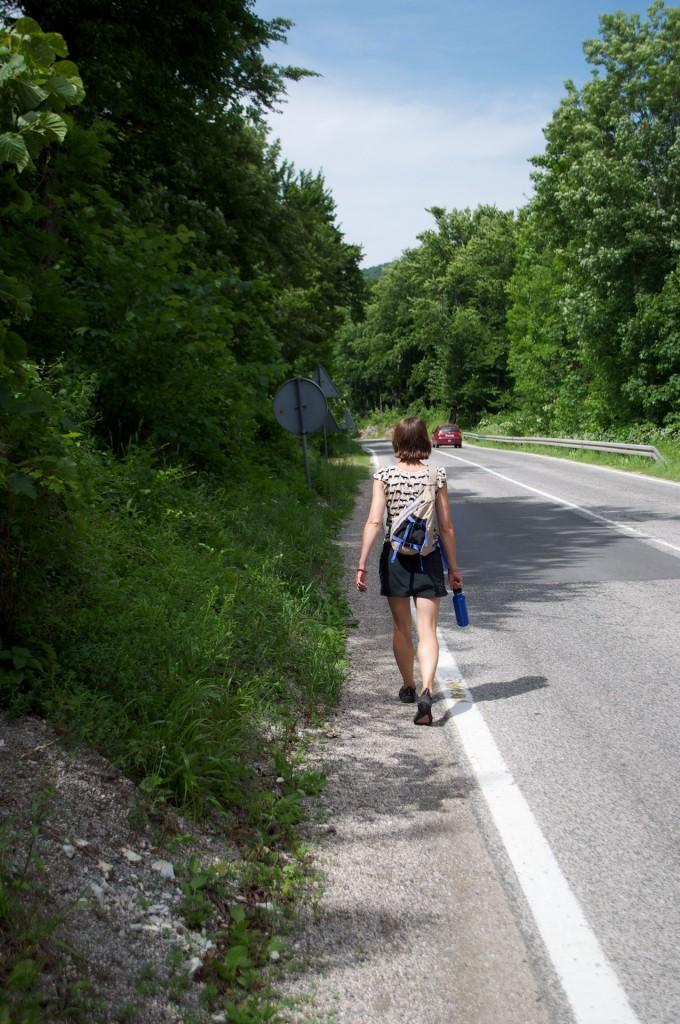 Walking in Plitvice Lakes