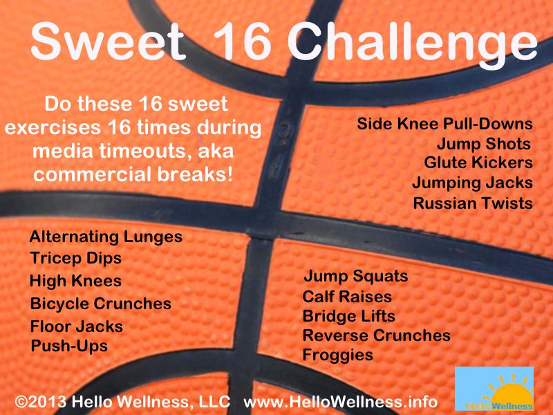 Sweet 16 Challenge