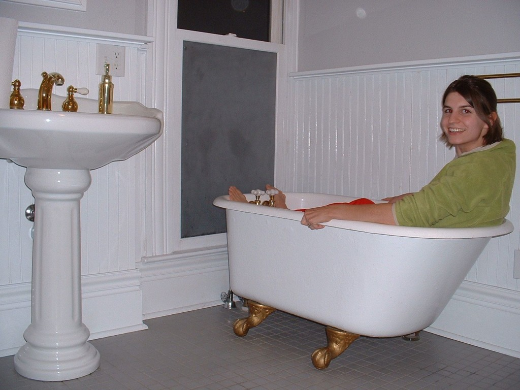 5 ways to kick a cold in photos hello wellness llc for Tiny bathtub